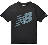 New Balance Accelerate Short Sleeve Printed Top