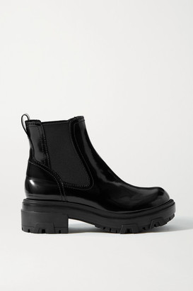 Rag & Bone Shaye Patent-leather Chelsea Boots - Black