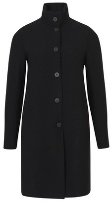 Harris Wharf London Boiled wool Egg coat