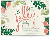 Minted A Jolly Party Holiday Party Invitations