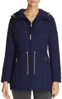 Laundry by Shelli Segal Mini Quilted Rain Anorak