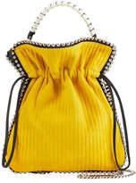 Les Petits Joueurs Trilly Mini Suede Drawstring Pouch Bag