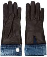 DSQUARED2 denim detali gloves
