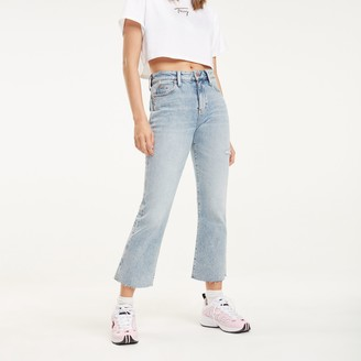 Tommy Hilfiger High Rise Flare Fit Jean