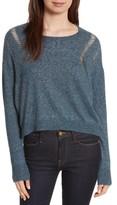 Autumn Cashmere Women's Boxy Ladder Stitch Cashmere & Silk Sweater