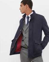 JOPLIN Twill button through coat