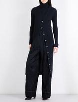 Maison Margiela Ribbed knitted cardigan