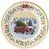 Lenox Holiday 2017 Vintage Wagon Decorative Plate