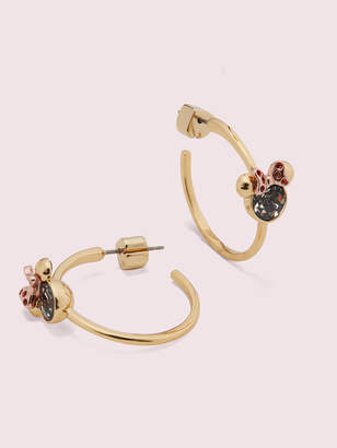 Kate Spade new york for minnie mouse stone hoops