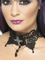 Very Halloween Ladies Gothic Lace Choker