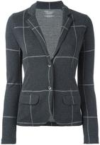 Majestic Filatures checked blazer - women - Cotton/Cashmere - 2