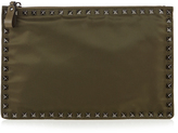 Valentino Rockstud-embellished pouch