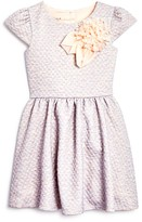 Pippa & Julie Girls' Pucker Knit Dress - Sizes 2-6X