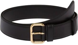 Miu Miu Adjustable Buckle Leather Belt