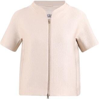 Herno Zipped Short-Sleeve Jacket