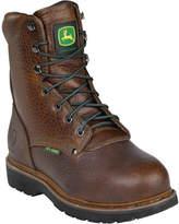 """John Deere Boots 8"""" Metatarsal Guard Pot Room Steel Toe 9362 Boot (Men's)"""