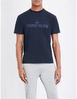 Stone Island Brand-logo Cotton-jersey T-shirt