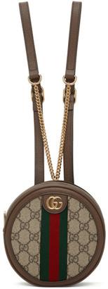 Gucci Beige Mini Ophidia Backpack