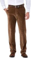 Haggar Classic-Fit Flat-Front Corduroy Pants