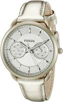 Fossil Women's ES3912 Analog Display Analog Quartz Watch