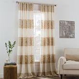 Kas ROOM Carina Rod Pocket Window Curtain Panel