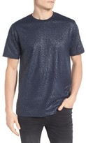 Eleven Paris Men's Elevenparis Gatrick Crackled Print T-Shirt