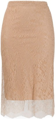 Tom Ford Layered Lace Skirt