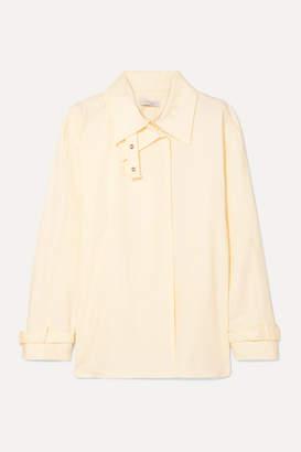 Low Classic Layered Cotton Shirt - Cream