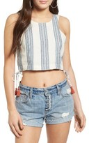 Tularosa Women's Marley Linen Crop Top