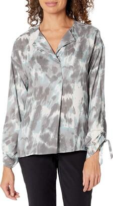 b new york Women's Eco Tie Sleeve Top
