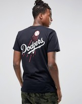 New Era LA Dodgers T-Shirt With Back Print