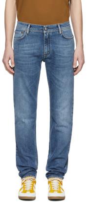 Acne Studios Blue Bla Konst Mid North Jeans