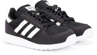 adidas Kids side stripe sneakers