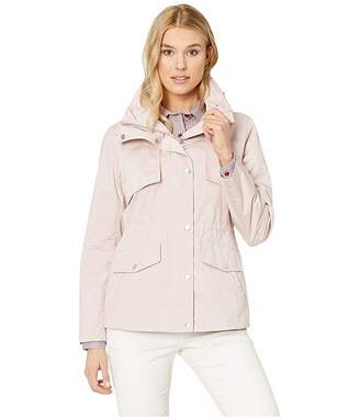 Cole Haan Travel Packable Zip Front Jacket with Front Placket and Snaps