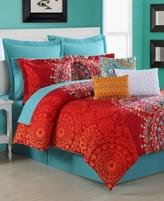 Fiesta Cozumel Reversible Queen Comforter Set