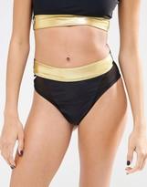 Quontum High Cut Bikini Bottom