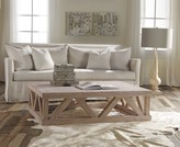 The Well Appointed House Modern History Rectangular Rustic Architectural Coffee Table - ON BACKORDER - PLEASE