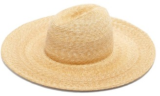 Lola Hats Twin Peaks Straw Fedora Hat - Beige