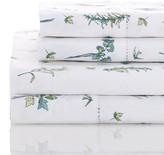 Melange Home 400 Thread Count Cotton Sprigs Sheet Set - Multi Green