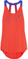 Nike Elastika Stretch-jersey Tank - Orange
