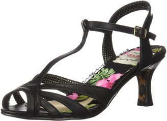 Bettie Page Women's BP300-LAYLA Heeled Sandal