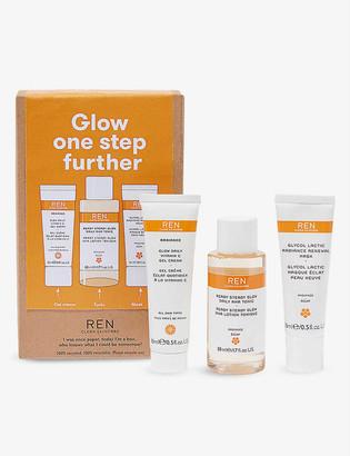 REN Glow One Step Further radiance kit