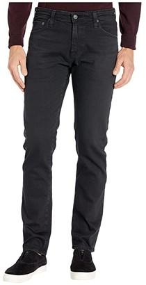 AG Jeans Tellis Modern Slim Leg Jeans in 7 Years Pure Black (7 Years Pure Black) Men's Jeans