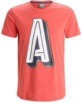 Puma Afc Print Tshirt High Risk Red/heather