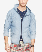 Denim & Supply Ralph Lauren Men's Chambray Hooded Jacket