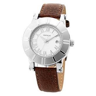 Pertegaz Quartz Watch with Leather Strap P19026-M