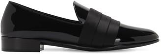 Giuseppe Zanotti 15mm Patent Leather Loafers W/ Band