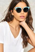 Nasty Gal On the Prowl Cat-Eye Shades