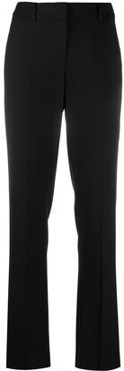 Emporio Armani High Rise Straight-Leg Trousers