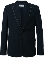 Saint Laurent studded lapel blazer - men - Silk/Wool - 46